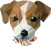 Rock that Wall muursticker puppy uit de Diamond Pet Collectie