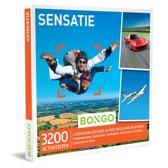 Bongo Bon Nederland - Sensatie Cadeaubon - Cadeaukaart cadeau voor man of vrouw | 3200 activiteiten: tandemsprong, helikoptervlucht, ballonvaart, circuitrace en meer