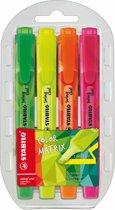 STABILO Swing Cool Colormatrix - Etui 4 stuks