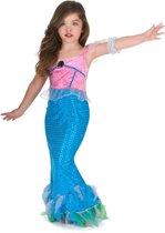 Zeemeermin jurk voor meisjes - Verkleedkleding - Maat 140/152
