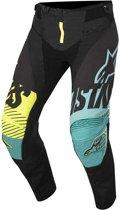 Alpinestars Crossbroek Techstar Screamer Black/Teal/Fluor Yellow-28