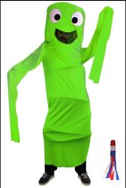 Funny windsock groen one size