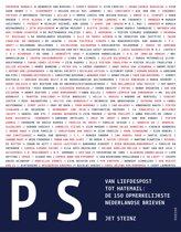 Boek cover P.S. van Jet Steinz (Paperback)
