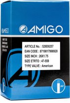 Amigo Binnenband 26 X 1.75 (47-559) Av 48 Mm