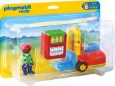 Playmobil 123 Vorklift met lading - 6959
