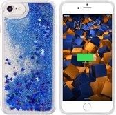 Hoesje CoolSkin Liquid / Glitter / Siliconen / Gel / TPU / Softcase / Hoesje / Case voor Apple iPhone 5/5S/SE Dark Blauw