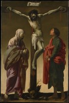 Hendrick ter Brugghen : The Crucifixion with the Virgin and Saint John (1624) Canvas Print