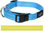 Rogz For Dogs Fanbelt Hondenhalsband - 20 mm x 34-56 cm - Geel