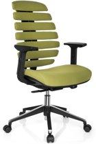hjh office Ergo Line II - Bureaustoel - Stof - Groen
