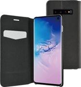 Azuri ultra dunne book case met staanfunctie - Samsung Galaxy S10 - Zwart