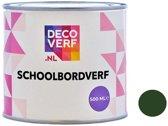 Decoverf schoolbordverf groen, 500ml