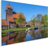 Zonnige dag in het Nederlandse Haarlem Plexiglas 30x20 cm - klein - Foto print op Glas (Plexiglas wanddecoratie)