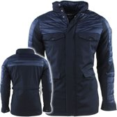 Geographical Norway - Heren Winterjas - met sofftshell details - Dancing - Navy