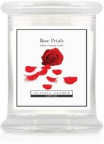 Classic Candle Medium Jar Rose Petals
