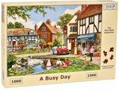 A Busy Day Puzzel 1000 stukjes
