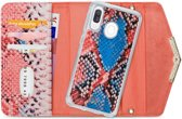 Mobilize Velvet Clutch for Samsung Galaxy A40 Coral Snake