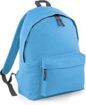 BagBase Backpack Rugzak - 18 l - Surf Blue/Graph