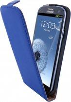 Mobiparts Premium Flip Case Samsung Galaxy S3 Blue