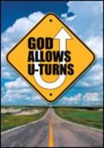 God Allows U-Turns (Pack of 25)