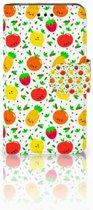 Samsung Galaxy Core i8260 Bookcase hoesje Design Fruits