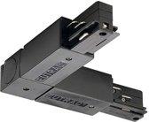 L-verbinder 1 voor 3-fase rail zwart