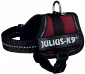 Julius K9 IDC Powertuig/Harnas - Baby 1/30-40cm - XXXS - Bordeaux