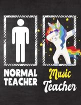 Normal Teacher Music Teacher
