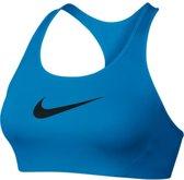 Nike Victory Shape Sports Bra - 805549-435 - Sportbeha - Dames - Blauw - Maat L