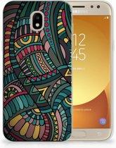 Samsung Galaxy J5 2017 TPU Hoesje Design Aztec