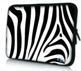 iPad hoes zebra print - Sleevy