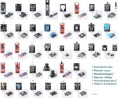 37-Delige Arduino UNO R3 / MEGA / NANO Compatible Sensor Module Starters Set - Genuino Starter Kit - Inclusief Handleiding