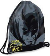 Batman v Superman Fear the Bat - Gymbag - 46 cm - Zwart