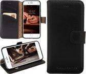 Bouletta Lederen Apple iPhone 7/8 Plus Hoesje - Book Case - Rustic Black