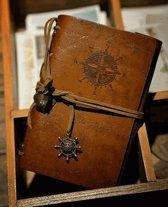 Vintage Lederen Notebook / Journal