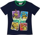 Ninja-Turtles-T-shirt-met-korte-mouw-marineblauw-maat-134