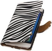Huawei Honor Y6 - Zebra Booktype Wallet Hoesje