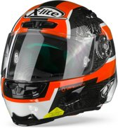 X-LITE X-803 RS ULTRA CARBON 21 PETRUCCI CARBON BLACK RED WHITE FULL FACE HELMET S