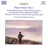 Grieg: Piano Music Vol 3 / Einar Steen-Nokleberg