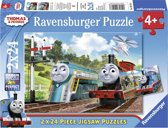 Ravensburger Thomas Friends Twee puzzels van 24 stukjes