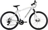"Ks Cycling Fiets Hardtail mountainbike 29"" Twentyniner Heist met 21 versnellingen wit - 51 cm"