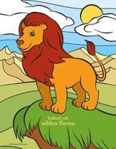 Malbuch Mit Wilden Tieren 1 & 2