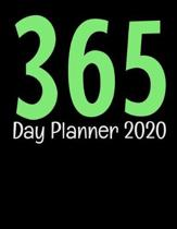 365 Day Planner 2020: One Year Daily Planner For Daily Reflection & Activities