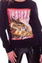 Rebel at heart basic sweater