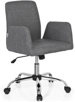 hjh office Flow - Bureaustoel - Stof - Lichtgrijs