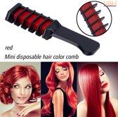 Rode Haarkrijt, Mini wegwerp Haarkleur kam
