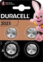 Duracell CR2025 Knoopcelbatterijen - 4 stuks