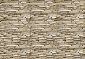 Fotobehang Stone Wall | M - 104cm x 70.5cm | 130g/m2 Vlies