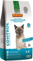 Biofood cat control urinary & sterilised kattenvoer 1,5 kg