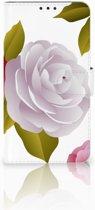 Microsoft Lumia 640 XL Uniek Boekhoesje Roses