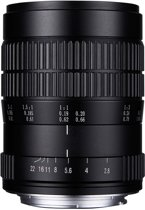 Laowa 60mm f/2.8 2:1 Ultra-Macro Nikon-F MILC/SLR Macrolens Zwart